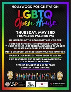 Hollywood Police Lgbtq Open Housebienestar Human Services